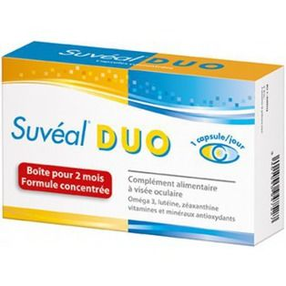 Suveal Duo 180 capsules format 6 mois Densmore