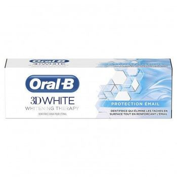 Date courte 02/20 Oral-B 3D white protection email 75 ml