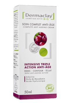 Dermaclay Soin Complet Intensive Triple action anti âge 50ml
