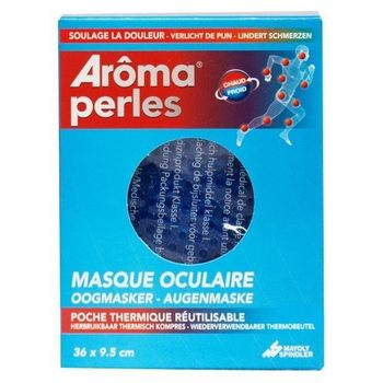 Arôma Perles Masque Oculaire Poche Gel Chaud/Froid