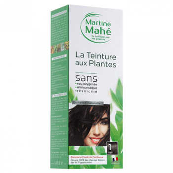 Martine Mahé Teinture aux plantes 5 applications 1 noir