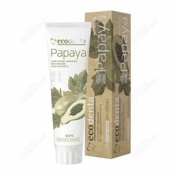 Ecodenta Dentifrice écocert papaye blanchissant - 100ml