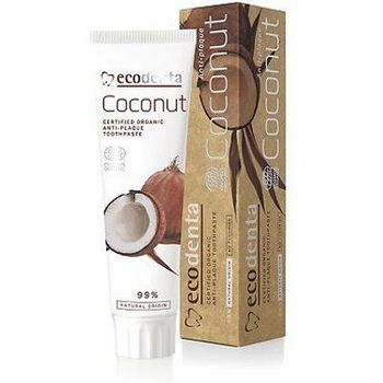 Ecodenta Dentifrice écocert coconut anti plaque 100ml