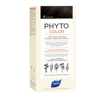 Phytocolor coloration permanente 4 chatain Phyto