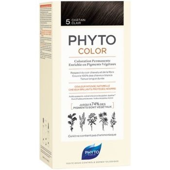 Phytocolor coloration permanente 5 chatain clair Phyto