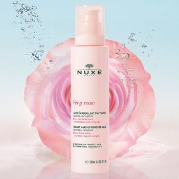 Nuxe Very Rose Lait Démaquillant Onctueux 200ml