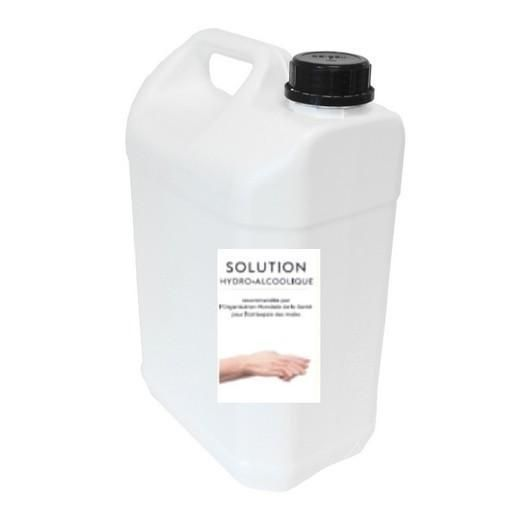 Solution hydro alcoolique 3 litres bag in box