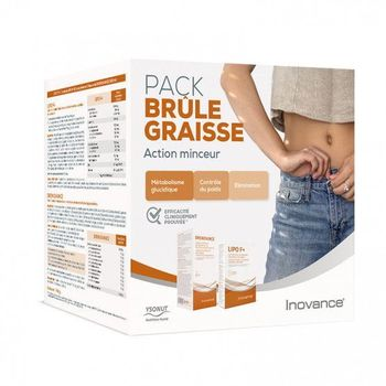 Inovance pack brule graisse action minceur