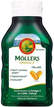 Date courte 09/20 Möller's Omega-3 Double 112 Capsules