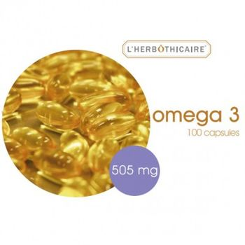 Date courte 03/07/20 L'herbothicaire Omega 3 - 180 capsules