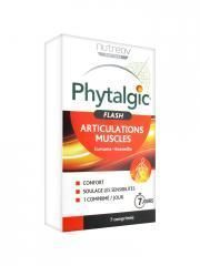 Date courte 10/20.Nutreov Phytalgic Flash Articulations Muscles 7 Comprimés