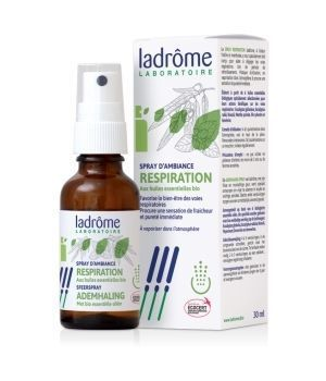Ladrome Spray d'ambiance Respiration Bio 30 ml