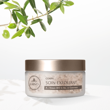 Laino Soin gommant huileux a l Argan 150g Corps