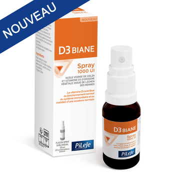 Pileje D3 Biane Spray 1000 UI - 20ml