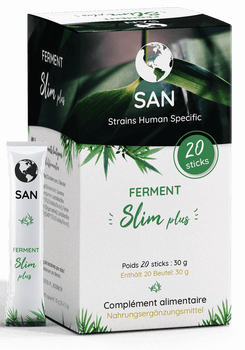 San Probiotics ferment slim plus 20 sticks
