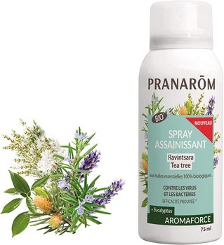 Pranarom Spray Bio assainissant ravintsara/tea tree 75ml