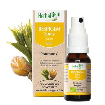 Herbalgem Respigem bio spray 15ml