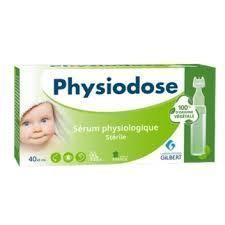 Physiodose Sérum physiologique Stérile Gilbert