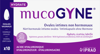 MUCOGYNE 10 OVULES acide hyaluronique
