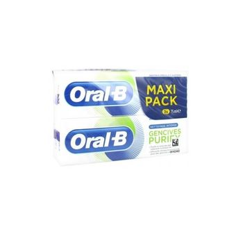 Oral B Dentifrice Gencives Purify Nettoyage Intense Lot de 2 x 75ml