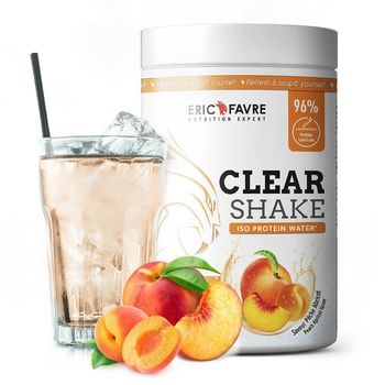 Eric Favre Clear Shake Iso Protein Water peche abricot  750g