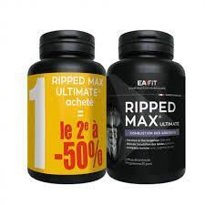 Eafit Ripped Max Ultimate Lot de 2 x 120 Comprimés