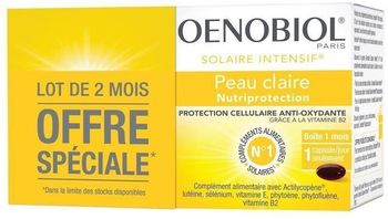 Oenobiol Solaire Intensif Nutriprotection lot 2x30 capsules