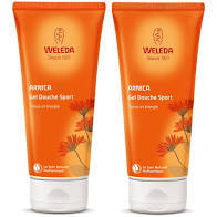 Wéléda Gel douche Arnica sport lot 2x200ml