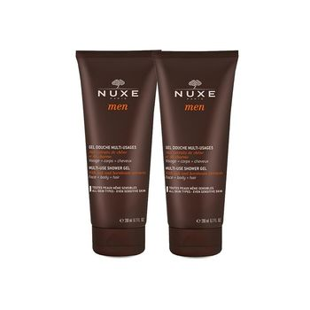 Nuxe men Gel Douche Multi-Usages lot 2x200ml