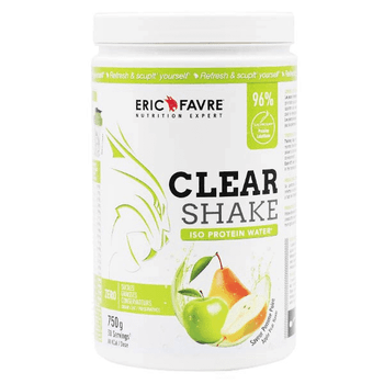 Eric Favre Clear Shake Iso Protein Water pomme poire 750g