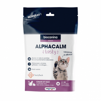 Biocanina Alphacalm Tasty Chat 30 bouchées
