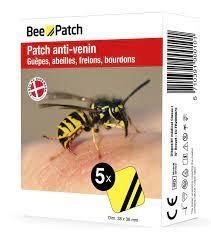 Bee patch 5 patchs anti venin