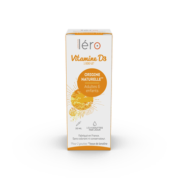 Léro vitamine D3 20ml