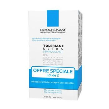 Tolériane - Démaquillant Yeux LOT 2 X 30x5ml  Roche Posay