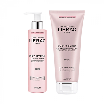 Lierac BODY-HYDRA+ Programme Double Hydratation DUO Gommage + Lait