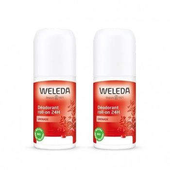 Weleda Deodorant à la Grenade Roll on 24h lot 2 X 50ml