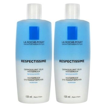 Respectissime - Démaquillant Yeux Waterproof LOT 2 X 125ml Roche Posay