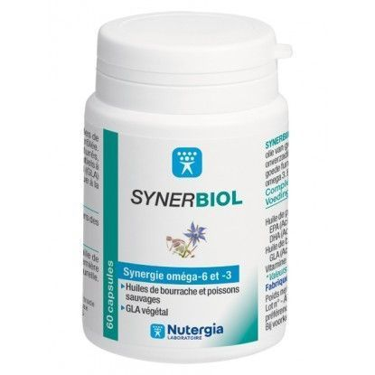 Synerbiol 60 Capsules Nutergia