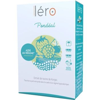 Lero pondeal 30 sticks fruits rouge