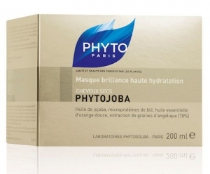 PHYTOJOBA Masque brillance hauute hydratation pot 200ml
