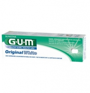 Gum Original White Dentifrice 75ml