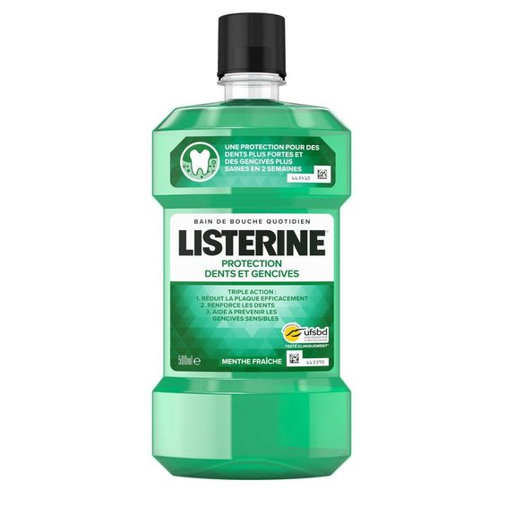Listerine Protection Dents et Gencives bain de bouche, 500ml