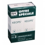 Keops Déodorant Bille lot de 2*30ml