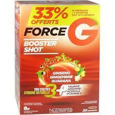 Force G Power Max 20 Ampoules dont 5 Offertes