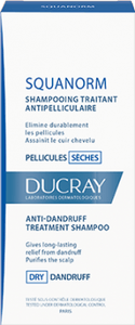 Ducray Squanorm shampoing traitant pellicules seches 200 ml