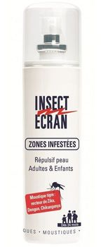 Insect ecran spray zones infestées 100ml