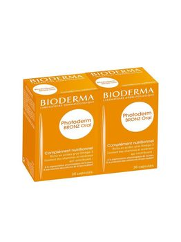 Photoderm Oral LOT DE 2x30 CAPS Bioderma
