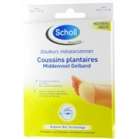Scholl Coussins Plantaires Taille 36-38