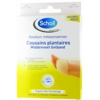 Scholl Coussins Plantaires Taille 39-42