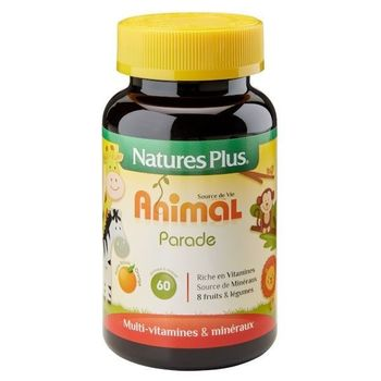 Nature's Plus Animal parade enfants orange 60 comprimés